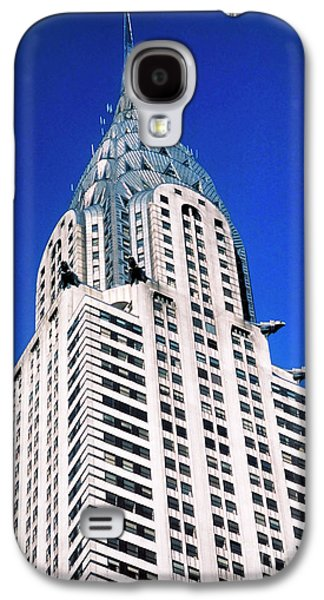 Building Photographs Galaxy S4 Cases - Chrysler Building Galaxy S4 Case by John Greim