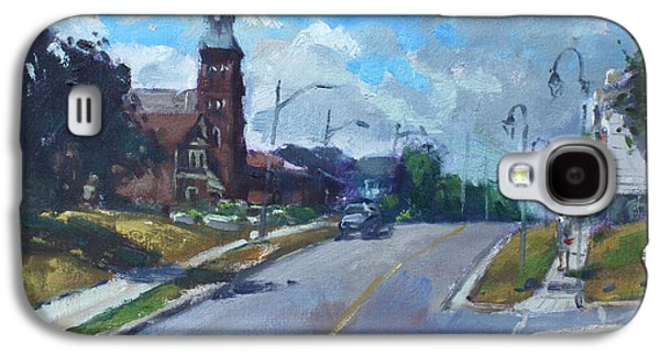 Church In Georgetown Downtown  Galaxy S4 Case by Ylli Haruni