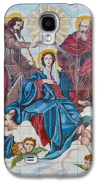 Religious Ceramics Galaxy S4 Cases - Church Tile Work Galaxy S4 Case by Cati Simon