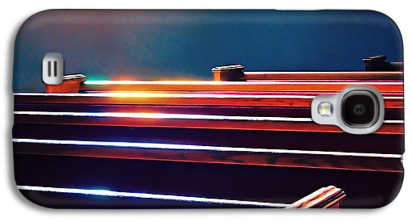 Churchlight -- Pews Under Stained Glass Galaxy S4 Case by Wendy J St Christopher
