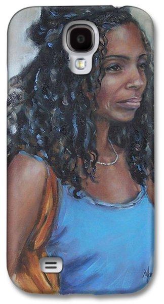 African-american Galaxy S4 Cases - Cindy Galaxy S4 Case by Martha Manco