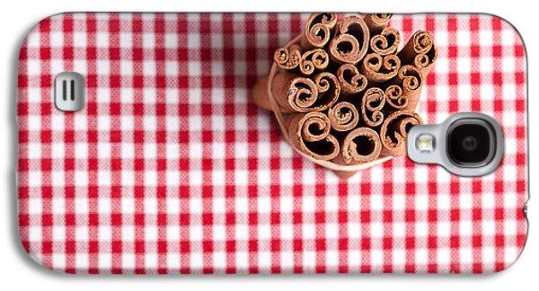 Cloth Galaxy S4 Cases - Cinnamon Galaxy S4 Case by Nailia Schwarz