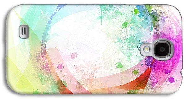 Abstract Movement Galaxy S4 Cases - Circle Of Life Galaxy S4 Case by Setsiri Silapasuwanchai