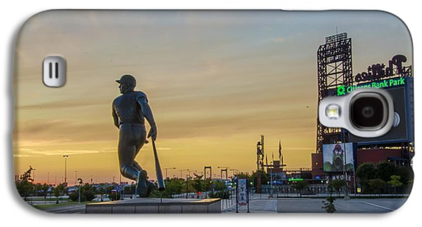 Citizens Bank Park Sunrise Galaxy S4 Case by Bill Cannon