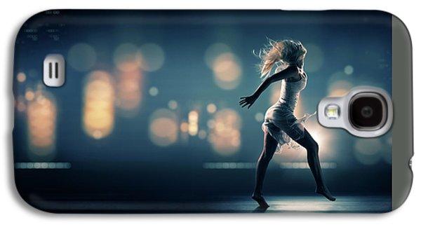 Haze Galaxy S4 Cases - City Girl Galaxy S4 Case by Johan Swanepoel