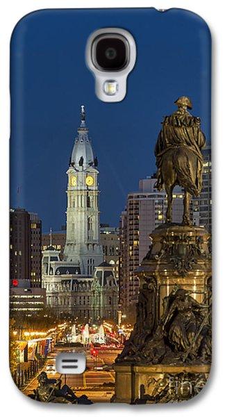 Phillies Art Galaxy S4 Cases - City Hall Philadelphia Galaxy S4 Case by John Greim