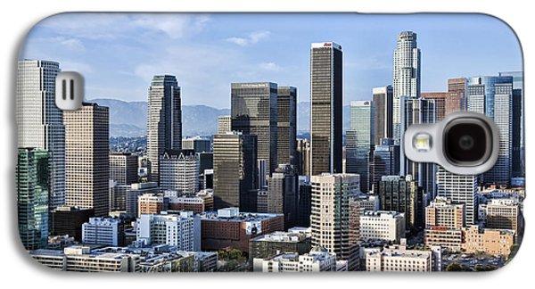 Kelley King Galaxy S4 Cases - City of Los Angeles Galaxy S4 Case by Kelley King