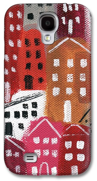City Stories- Ruby Road Galaxy S4 Case by Linda Woods