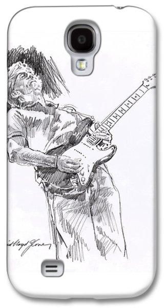 Clapron Blues Down Galaxy S4 Case by David Lloyd Glover