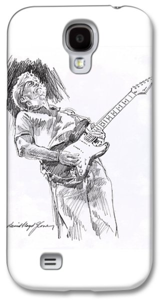 Eric Clapton Galaxy S4 Cases - Clapron Blues Down Galaxy S4 Case by David Lloyd Glover