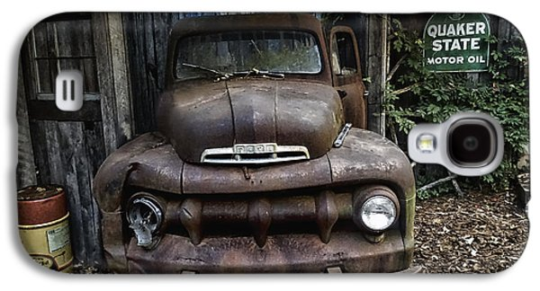Classic Ford Pickup Galaxy S4 Case by Melissa Messick