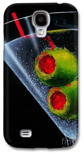 Classic Martini Galaxy S4 Case by Michael Godard