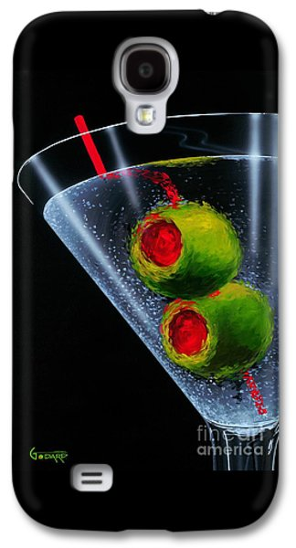 Galaxy S4 Cases - Classic Martini Galaxy S4 Case by Michael Godard