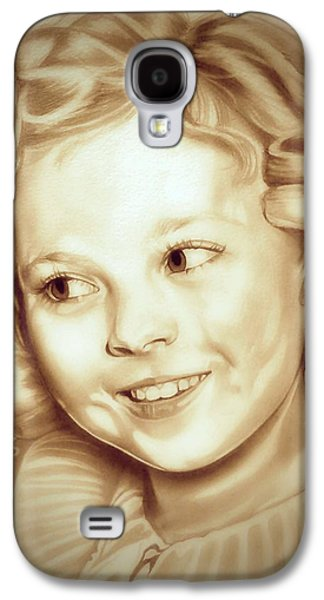 Classic Shirley Temple Galaxy S4 Case by Fred Larucci