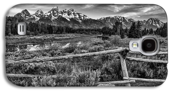 Landscape Acrylic Prints Galaxy S4 Cases - Classic Tetons Galaxy S4 Case by Darren  White