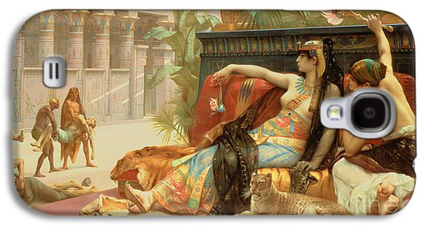 Cleopatra Testing Poisons On Those Condemned To Death Galaxy S4 Case by Alexandre Cabanel