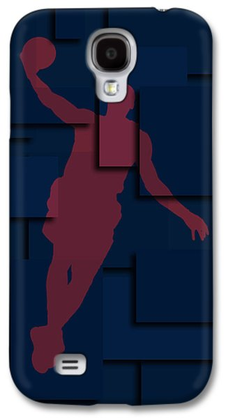 Dunk Galaxy S4 Cases - Cleveland Cavaliers Lebron James 2 Galaxy S4 Case by Joe Hamilton