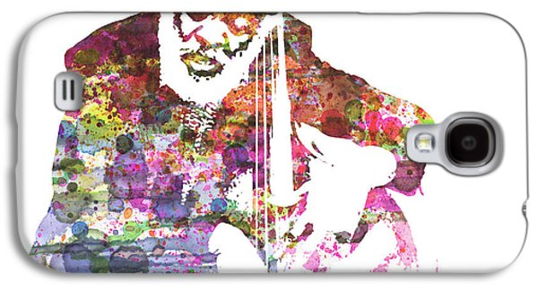 New York Paintings Galaxy S4 Cases - Cleveland Eaton Galaxy S4 Case by Naxart Studio
