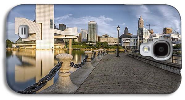 Cleveland Panorama Galaxy S4 Case by James Dean