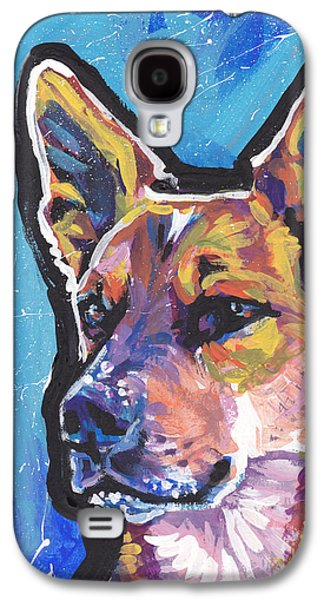 Cattle Dog Galaxy S4 Cases - Click Your Red Heels Galaxy S4 Case by Lea