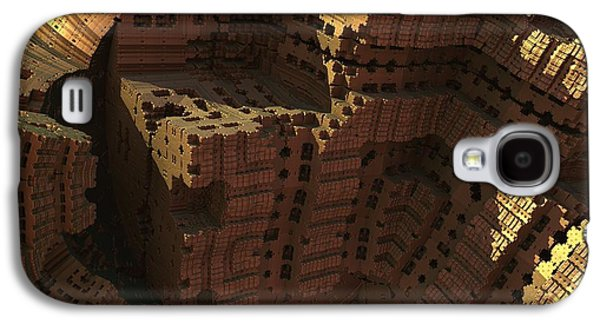 Ancient Galaxy S4 Cases - Cliff Dwellers Galaxy S4 Case by Lyle Hatch