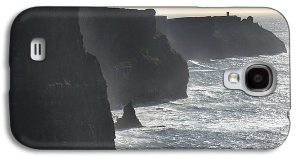 Ledge Galaxy S4 Cases - Cliffs of Moher 1 Galaxy S4 Case by Mike McGlothlen