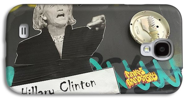 Clinton Message To Donald Trump Galaxy S4 Case by Funkpix Photo Hunter