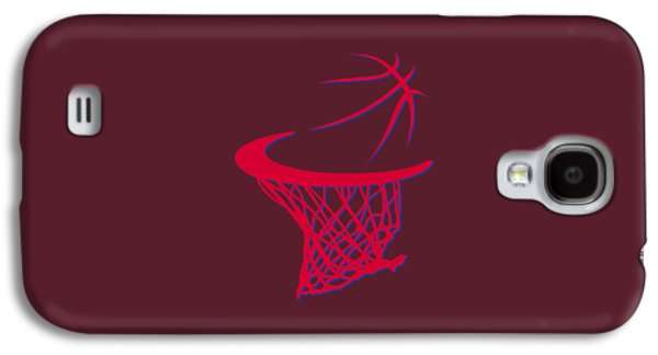 Clippers Basketball Hoop Galaxy S4 Case by Joe Hamilton