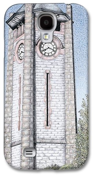 Rural Art Galaxy S4 Cases - Clock Tower Galaxy S4 Case by Sandra Moore