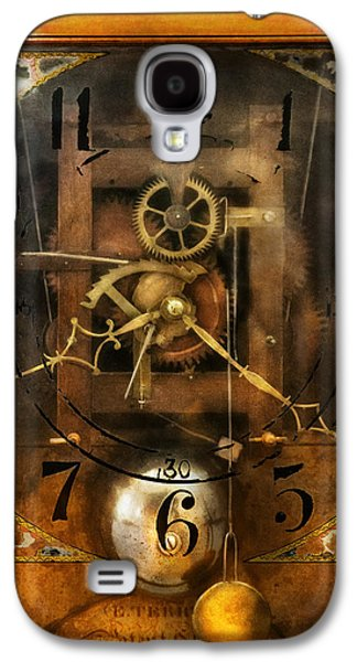 Mechanism Galaxy S4 Cases - Clockmaker - A sharp looking time piece Galaxy S4 Case by Mike Savad