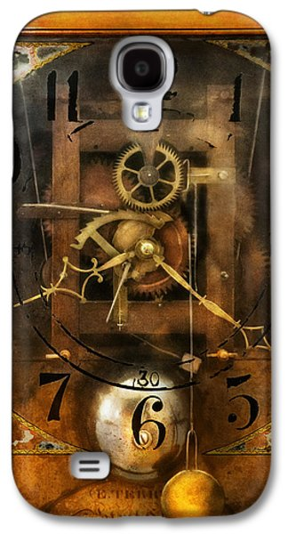 Clockmaker - A Sharp Looking Time Piece Galaxy S4 Case by Mike Savad