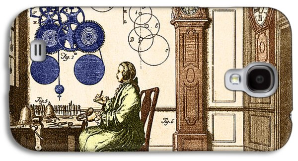 Mechanism Galaxy S4 Cases - Clockmaker Galaxy S4 Case by Photo Researchers