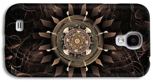 Mechanism Digital Art Galaxy S4 Cases - Clockwork Galaxy S4 Case by John Edwards