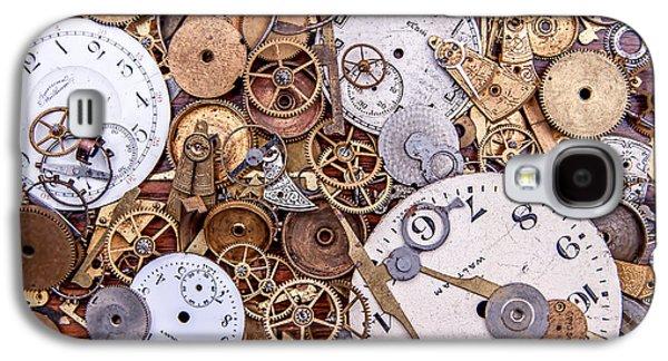 Timing Galaxy S4 Cases - Clockworks Still Life Galaxy S4 Case by Tom Mc Nemar