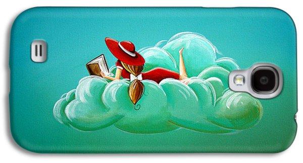 Girl Galaxy S4 Cases - Cloud 9 Galaxy S4 Case by Cindy Thornton
