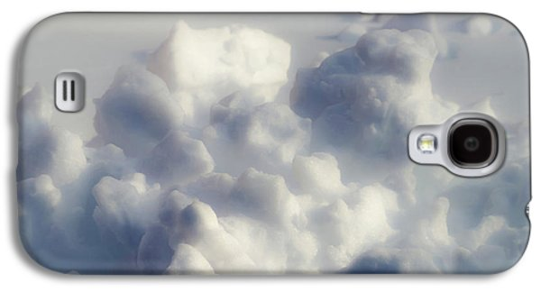 Simplistic Galaxy S4 Cases - Clouds of Snow Galaxy S4 Case by Wim Lanclus