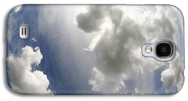 Nature Abstracts Galaxy S4 Cases - Clouds On The Sky Galaxy S4 Case by Michal Boubin