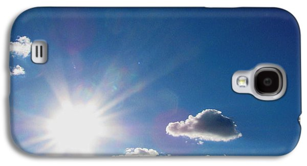 Original Photographs Galaxy S4 Cases - Cloudy with a Chance of Sun Galaxy S4 Case by Colleen Kammerer