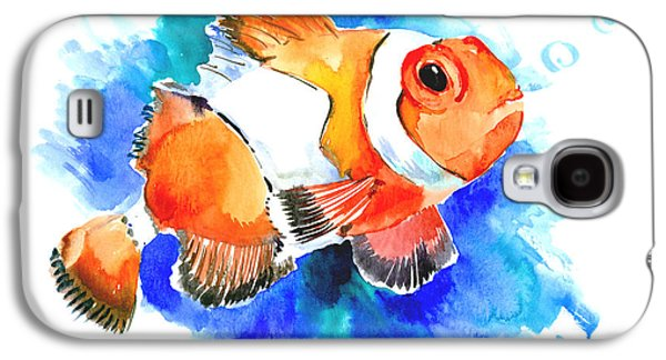 Animation Galaxy S4 Cases - Clownfish Galaxy S4 Case by Suren Nersisyan