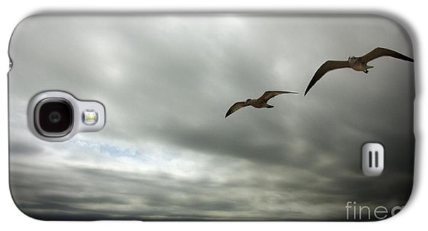 Contemplative Photographs Galaxy S4 Cases - Coasting Galaxy S4 Case by Leslie Coston