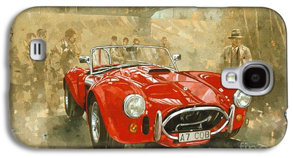 Cobra At Brooklands Galaxy S4 Case by Peter Miller