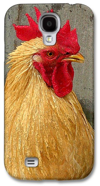 Digital Galaxy S4 Cases - Cock of the Walk Galaxy S4 Case by Jean Hall