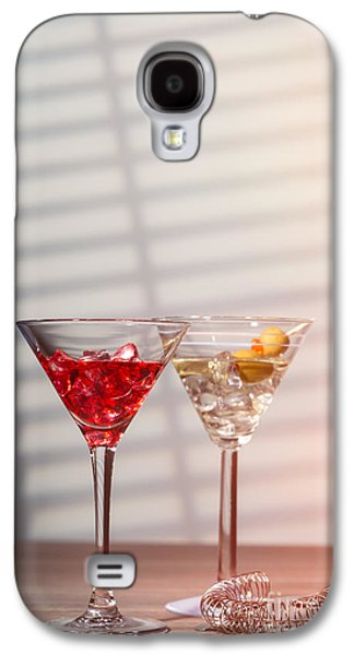 Cocktails With Strainer Galaxy S4 Case by Amanda Elwell