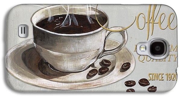 Coffee Shoppe 1 Galaxy S4 Case by Debbie DeWitt