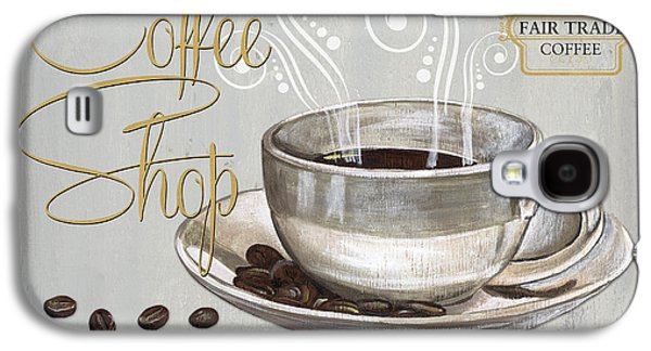 Coffee Shoppe 2 Galaxy S4 Case by Debbie DeWitt