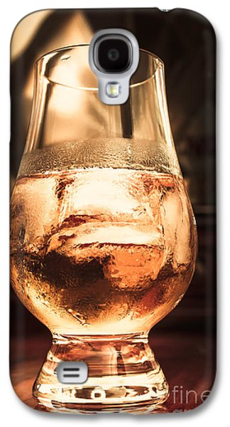 Cognac Glass On Bar Counter Galaxy S4 Case by Jorgo Photography - Wall Art Gallery