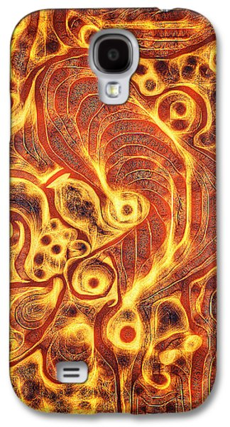 Abstract Movement Galaxy S4 Cases - Cogs in Wheels Galaxy S4 Case by Aurora Art