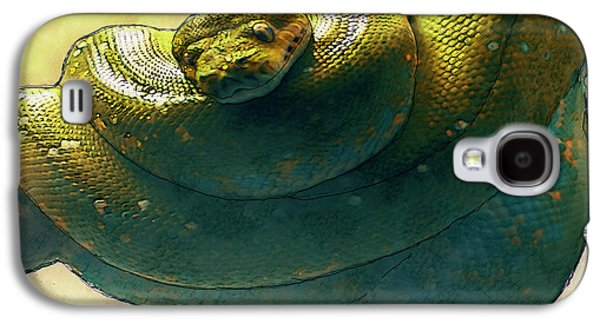 Coiled Galaxy S4 Case by Jack Zulli