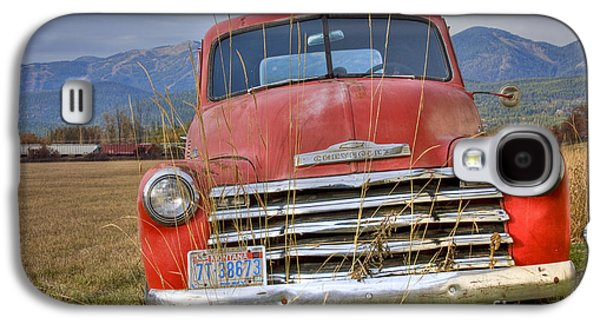 Farm Truck Galaxy S4 Cases - Collecting Weeds Galaxy S4 Case by Idaho Scenic Images Linda Lantzy