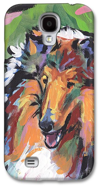 Collie Folly Galaxy S4 Case by Lea S